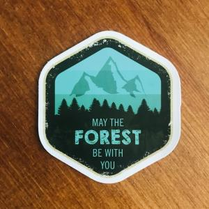 Sticker: May the forest be with you