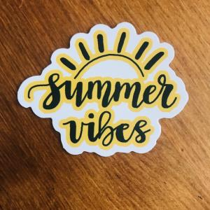 Sticker: Summer vibes